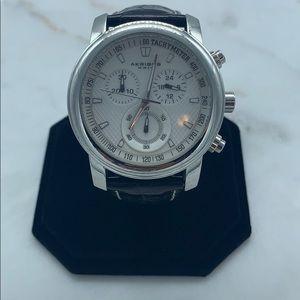 Men's Akribos XXIV 3 Dial Chronograph Watch